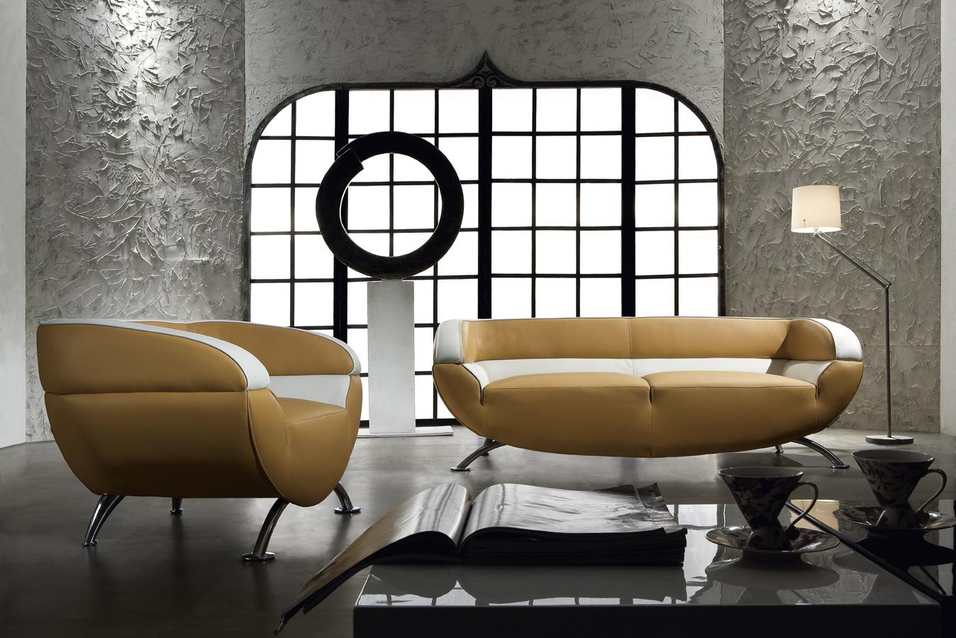 Black Design Co: Miss 60 Retro Modern 3 Piece Sofa Set