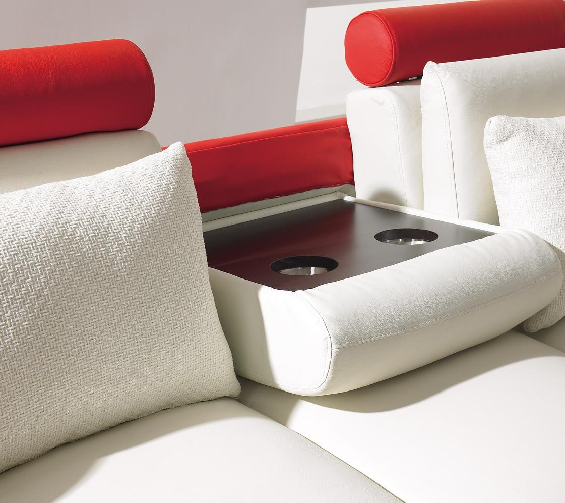 t 27 white and red leather sofa set black desig