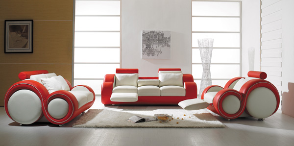 Elegant Classic Leather Sofa Sets, SIR WILLIAM by Calia Italia