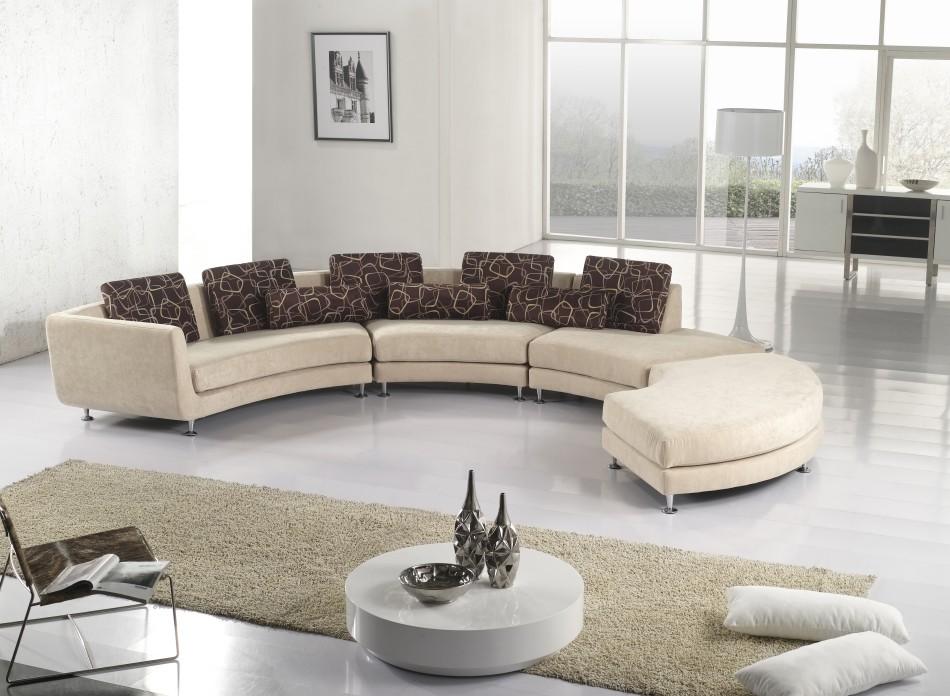 Madrid Taupe Beige Ultra Modern Living Room Furniture 3: Black Design Co