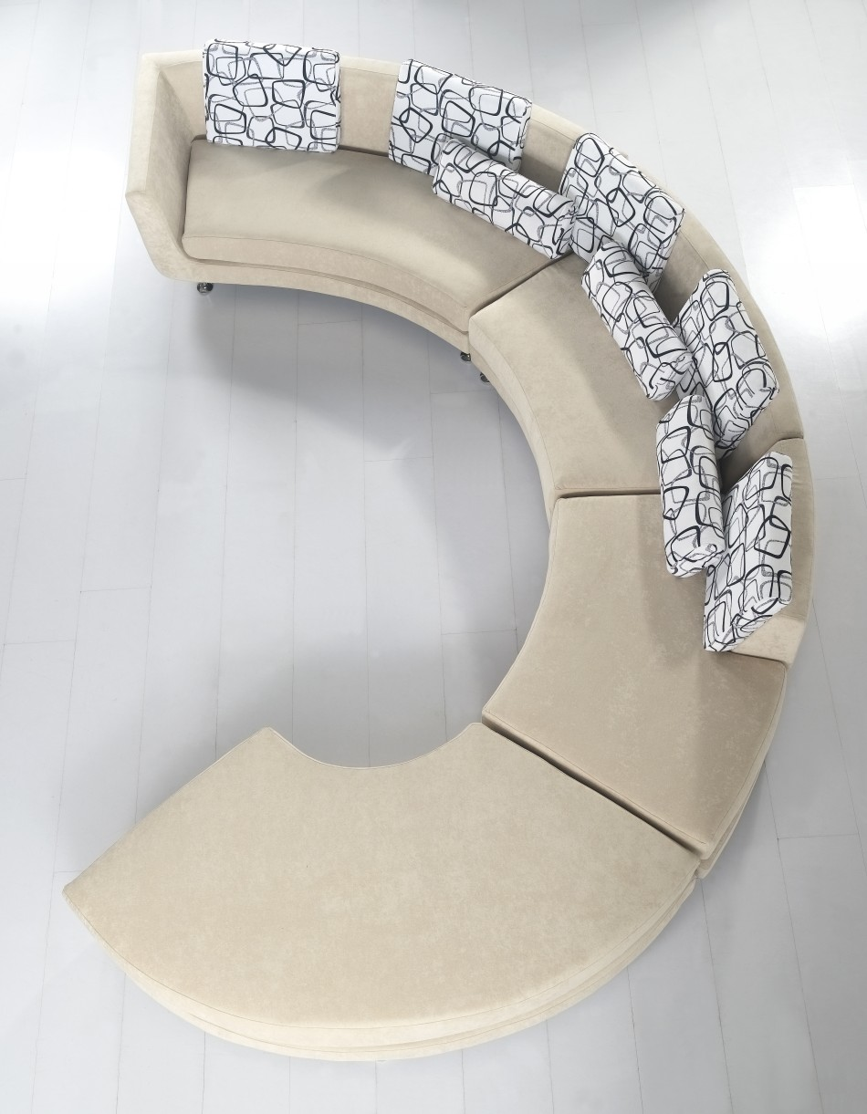 A94 Fabric Beige Sofa Black Design Co