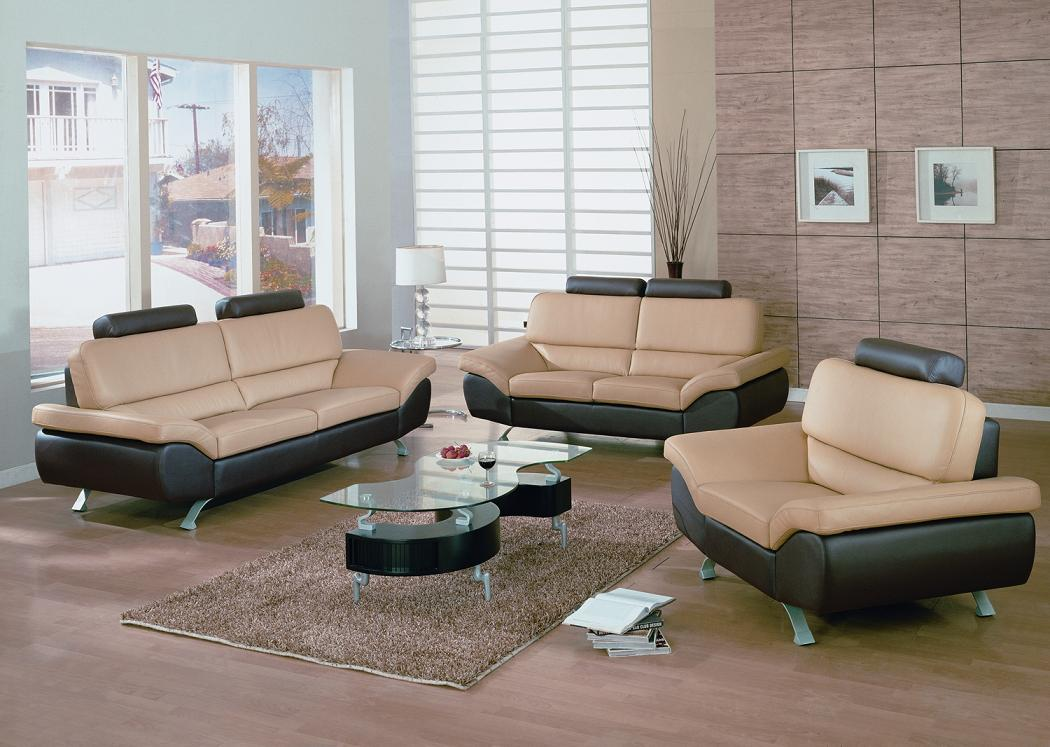Stupendous Bali Contemporary Leather Sofa Set Black Design Co Onthecornerstone Fun Painted Chair Ideas Images Onthecornerstoneorg