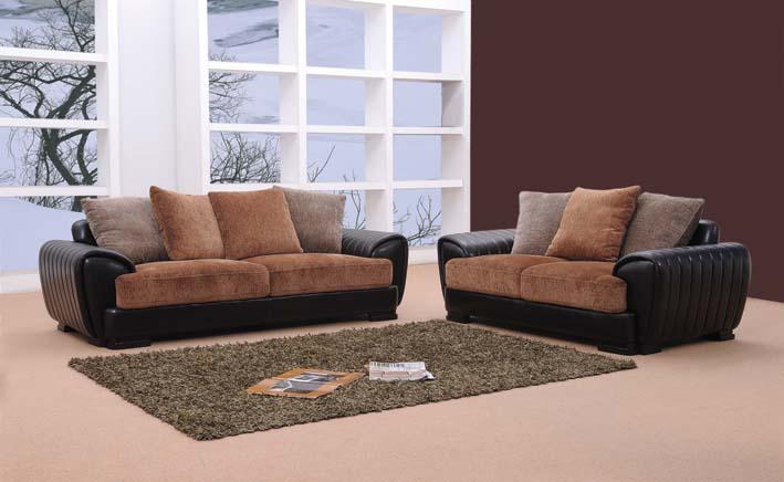 Berlin – Brown Sofa Set