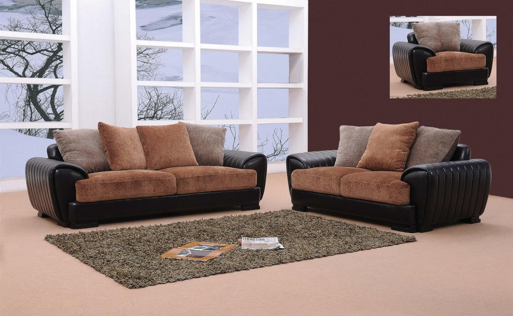 Berlin – Brown Sofa Set | Black Design Co