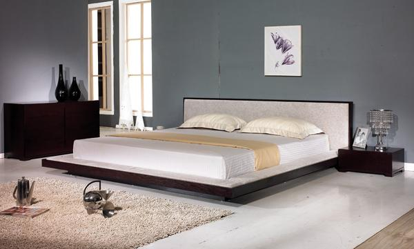 Comfy Modern Platform Bed Black Design Co