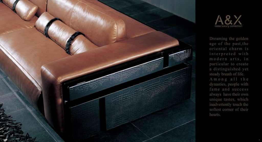 Black Design Co: Armani Xavira Collection