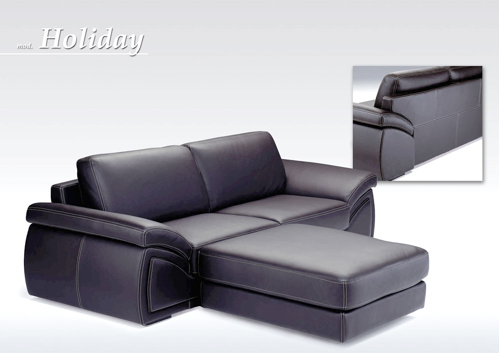 Holiday 3 Sectional Sofa Set Made In Italy