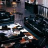 AX001 Armani Modern Leather Sofa Set