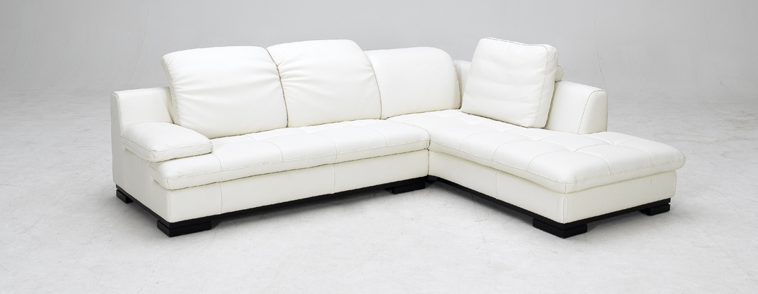 Amazing 1052 White Full Top Grain Leather Sectional Sofa Black Ibusinesslaw Wood Chair Design Ideas Ibusinesslaworg
