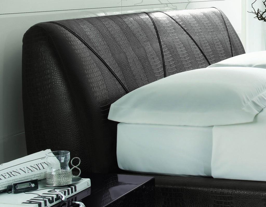 categories bedroom strip dk brown bed made in italy