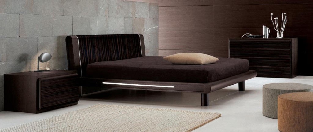 Black Design Co: Bed With Nightstands And Dresser