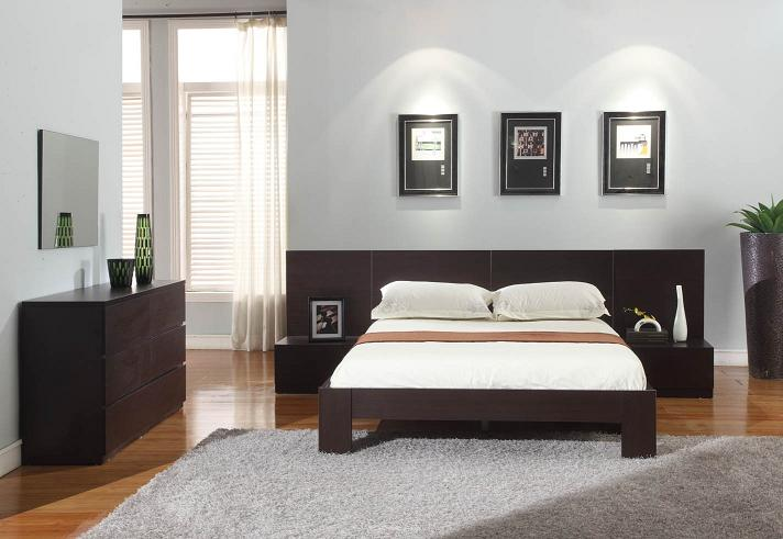 Nice ... Lyon Wenge Platform Bedroom Set