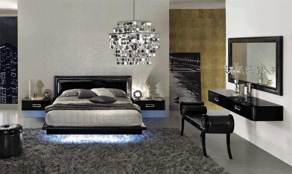 LA STAR – Composition 02 – Modern Italian Bed | Black Design Co