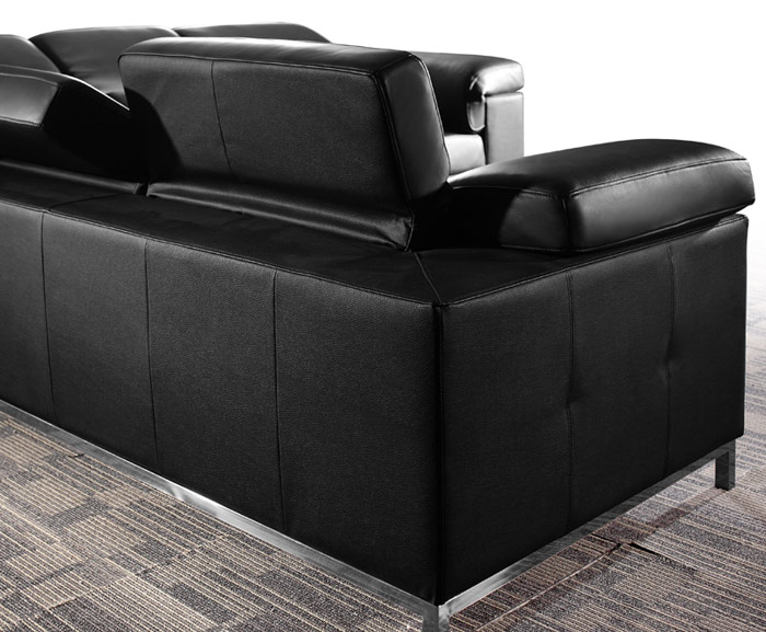 Black Design Co: Leon Sectional Sofa