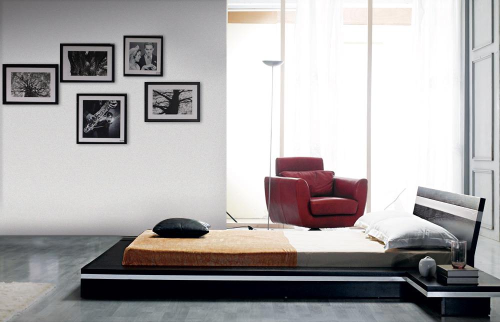 Black Design Co: Sonata Platform Bed In Wenge