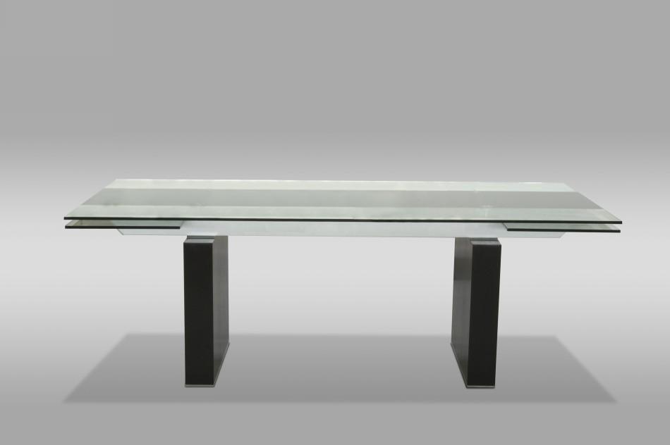 Lisbon Extendable Dining Table Black Design Co