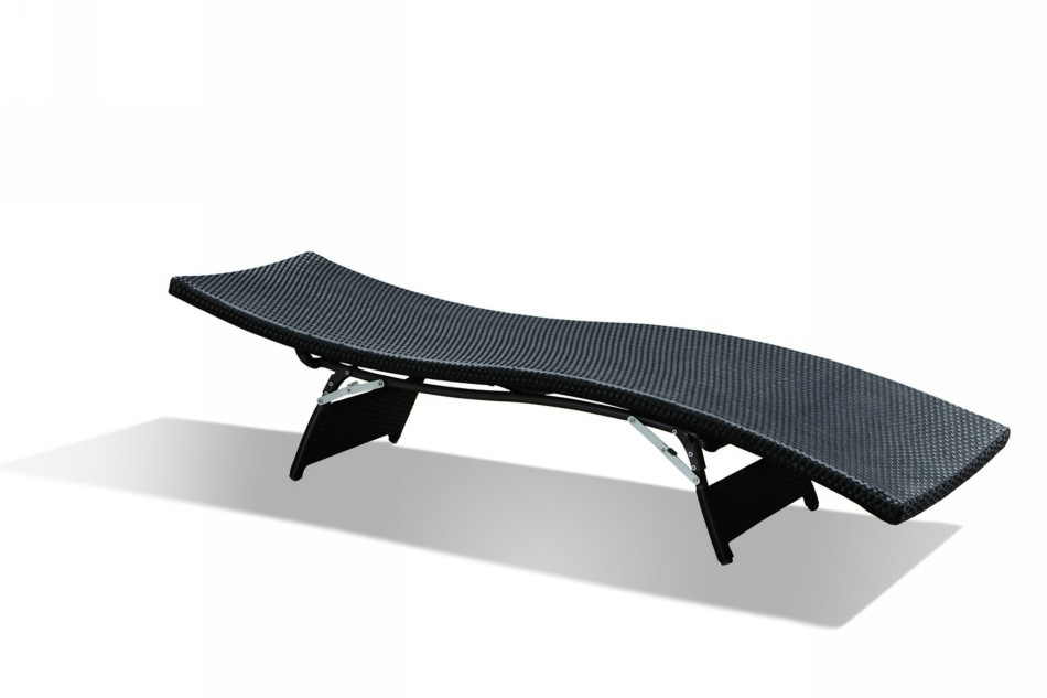 Black Design Co: GB-09 Outdoor Chaise Lounge With Optional Cushion